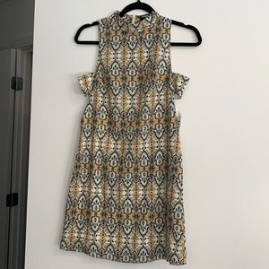 Fashion Union Printed Sleeveless Dress